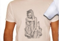 T-shirt Charlize Theron dessinée - 2010