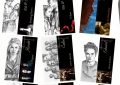 21 Marque-pages de la saga Twilight - 2011